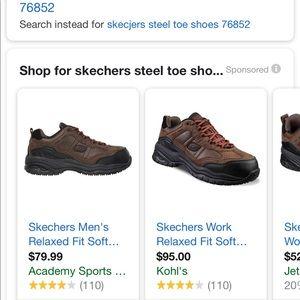 skechers steel toe academy